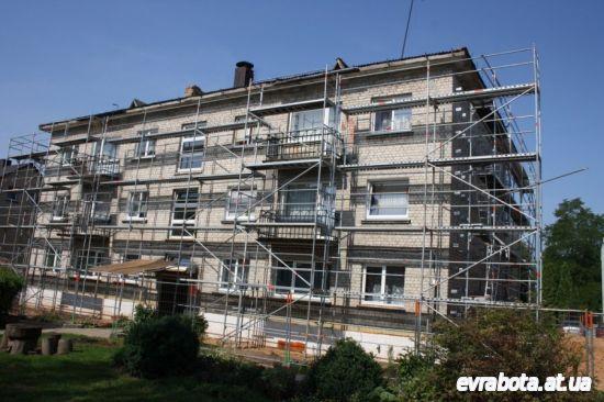 Нужны на контракт субподрядчики фасадчики в Литву - Работа в Литве