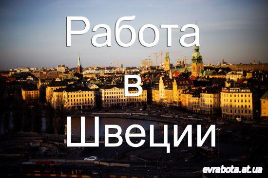 Работа в швеции для украинцев объявления дать объявление в уральске бесплатно онлайн